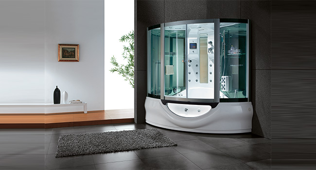 Fusion White Steam Shower