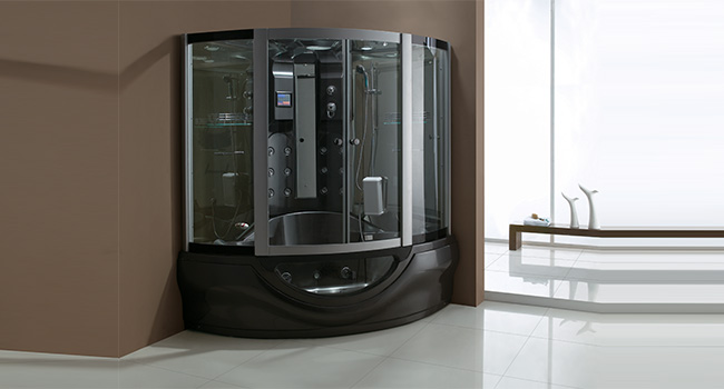 Fusion Black Steam Shower Cabins
