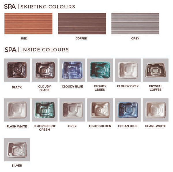 Premium Spa Insight Colors