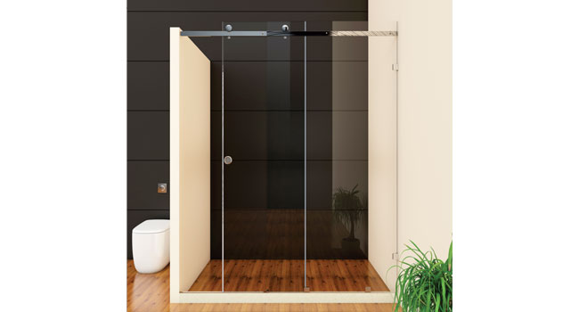 Straight Sliding (1 Fix Glass & Sliding Door)