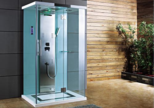 Precision White Steam Shower Cabin Steam Generators